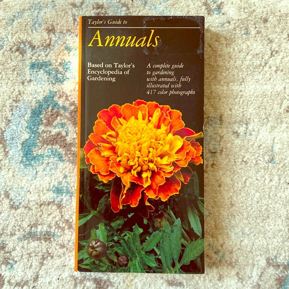 Vintage Other - Taylor's Guide to Annuals Book